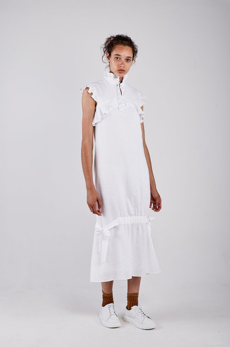 Kahle RIBBON TIE BELL DRESS