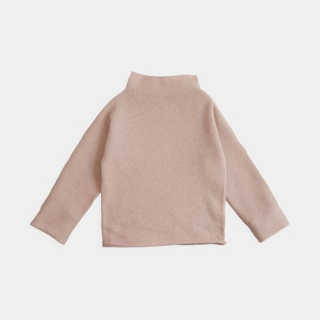 Kid's Belle Enfant Cashmere Funnel Neck Sweater