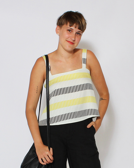 Dusen Dusen Level Tank in Lock Stripe