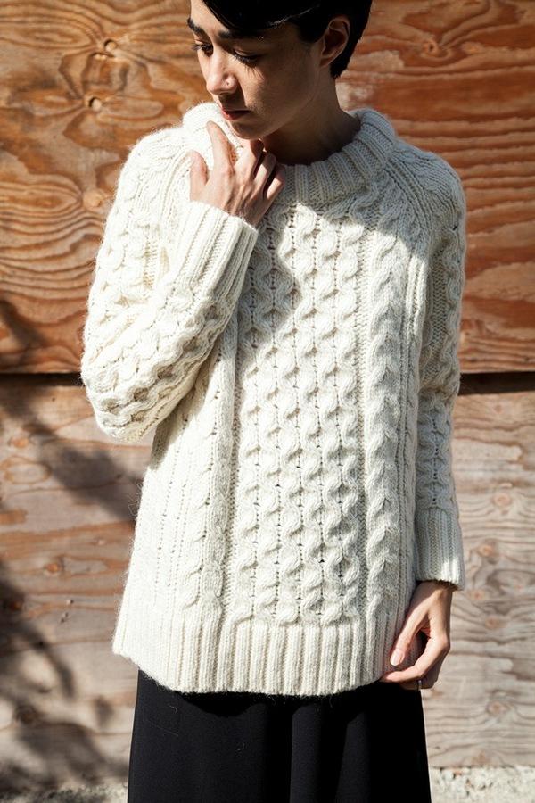 Apiece Apart Fisherman Sweater