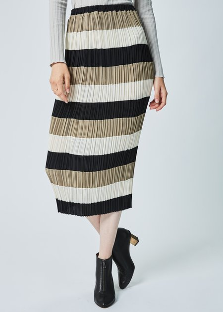 Baby & Company Striped Pleat Skirt