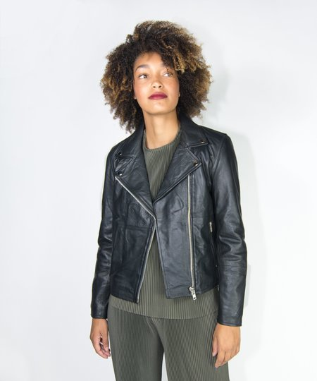 Just Female Damindra Leather Jacket