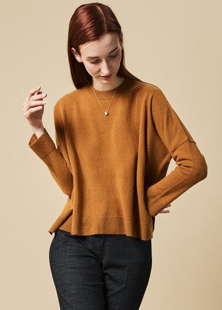 Hache Wool Blend Crewneck Sweater