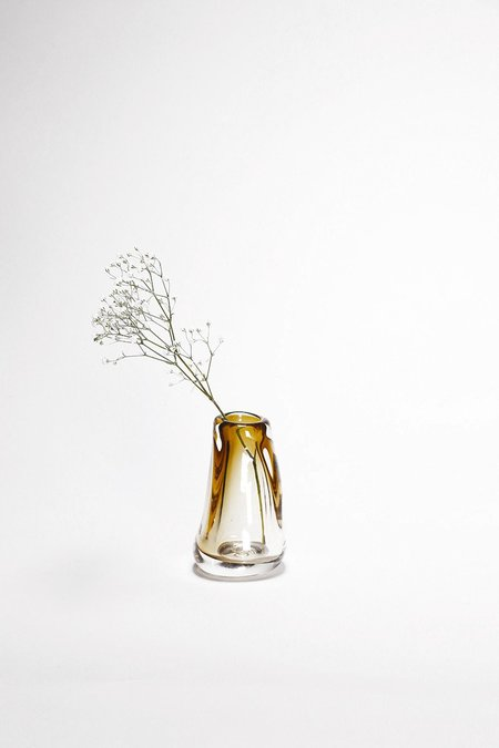 Bale Fire Glass Small Vase
