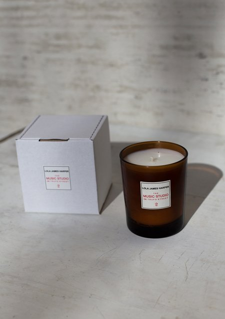Lola James Harper The Music Studio on Trufo Street Scented Candle