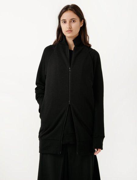 Ys by Yohji Yamamoto Layered Fleecy Pull-On Jacket