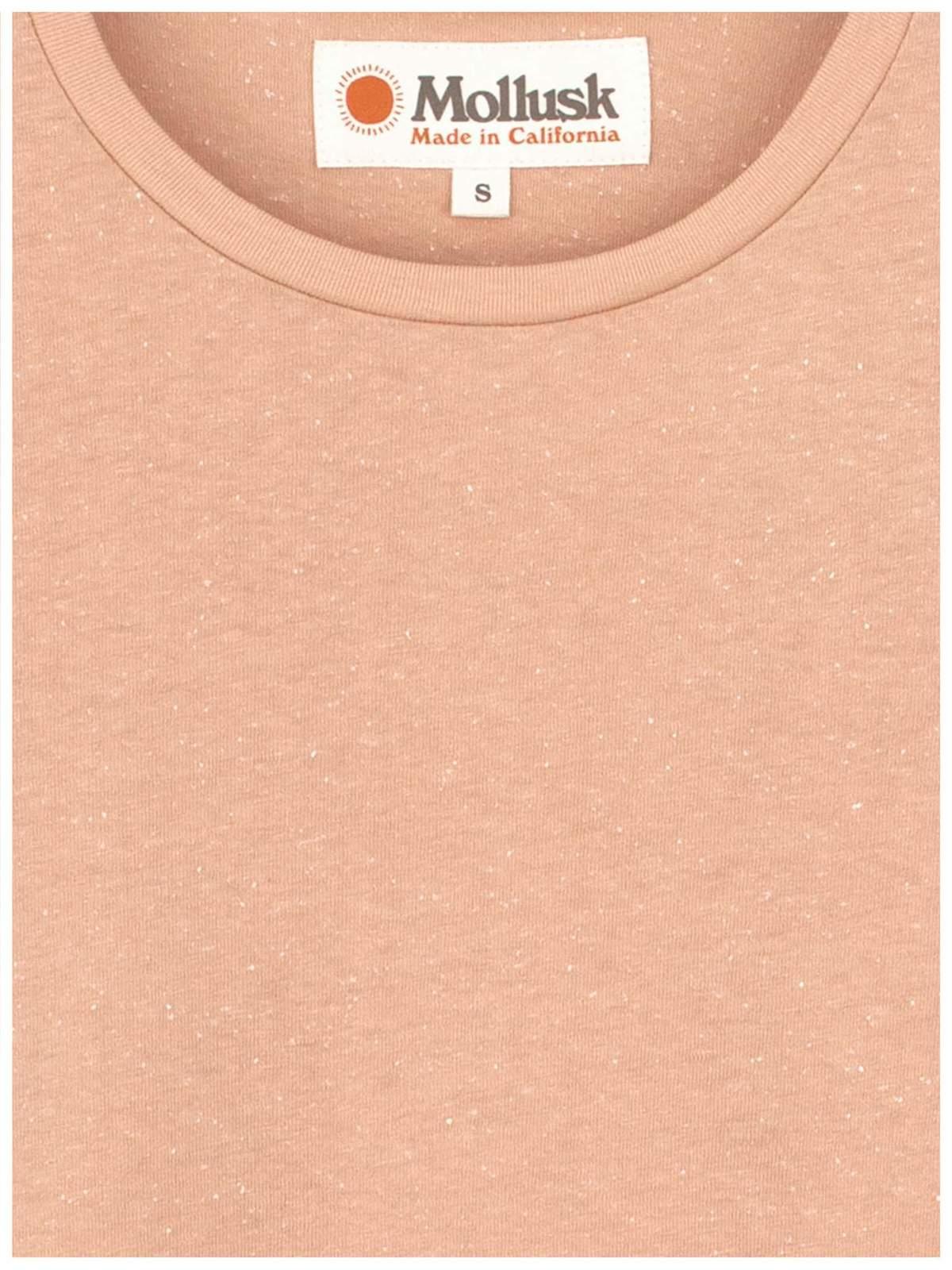 8e77e7132ab7 Mollusk Half Sleeve Hemp Tee - Blush | Garmentory
