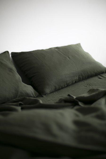 Good Studios Khaki Hemp Linen Bedding