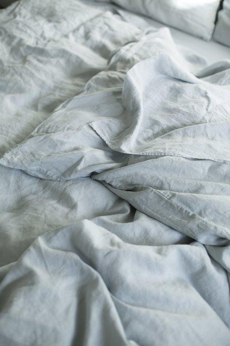 Good Studios Light Grey Hemp Linen Bedding