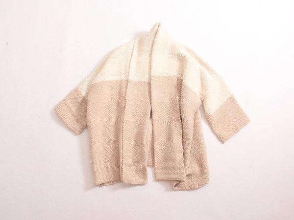 Atelier Delphine Haori Coat - Cream/Beige
