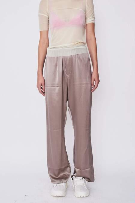 Baserange Satin Silk Domond Pants