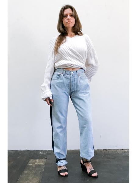 Bless Jeanspleatfront, Lightblue/Blue