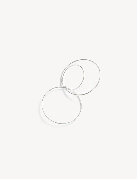 Medley Institute Three Circles Clip Earring Silver
