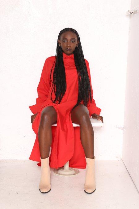 Intentionally Blank ACRE Cherry Shirt Dress