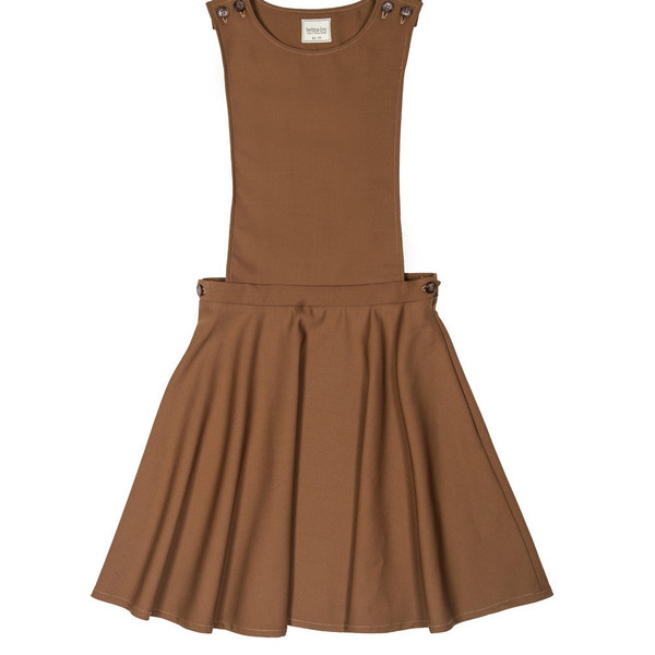Betina Lou Charlotte Dress in Camel