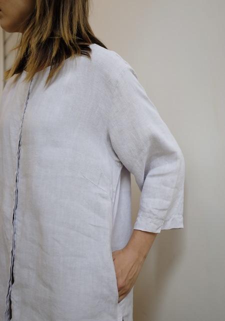 Hey Jude Vintage Pale Lavender Linen Jacket