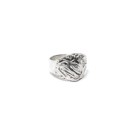 Maple Kelvin Thompson Totem Ring - Silver