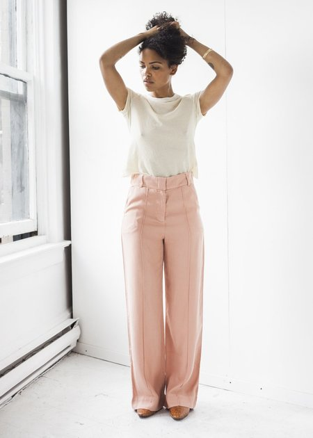 Lacausa Zoe Trouser in Rosewood