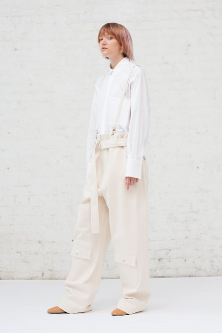 Nehera Poco Trousers in Light Ivory