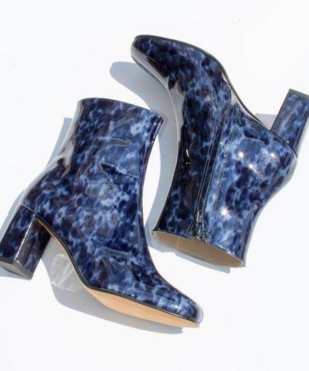 Maryam Nassir Zadeh Navy Tort Agnes Boot