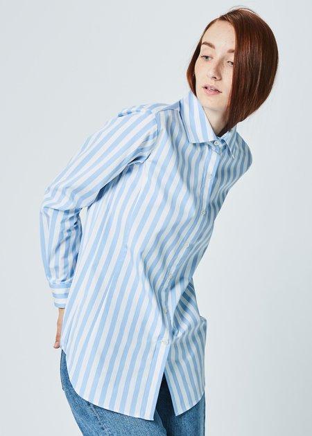 Odeeh Awning Stripe Button-Up Shirt