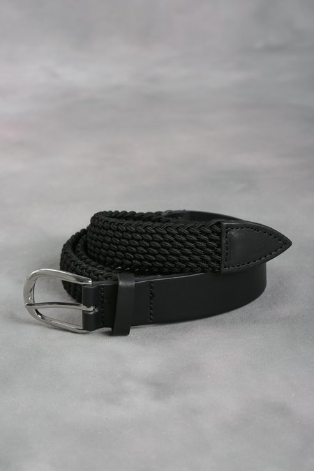 Martine Rose Woven Belt - Black