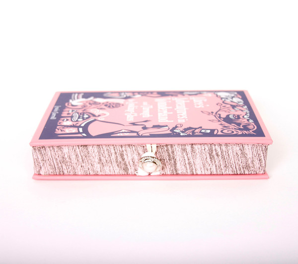 Chick Lit Designs Alice In Wonderland Book Clutch
