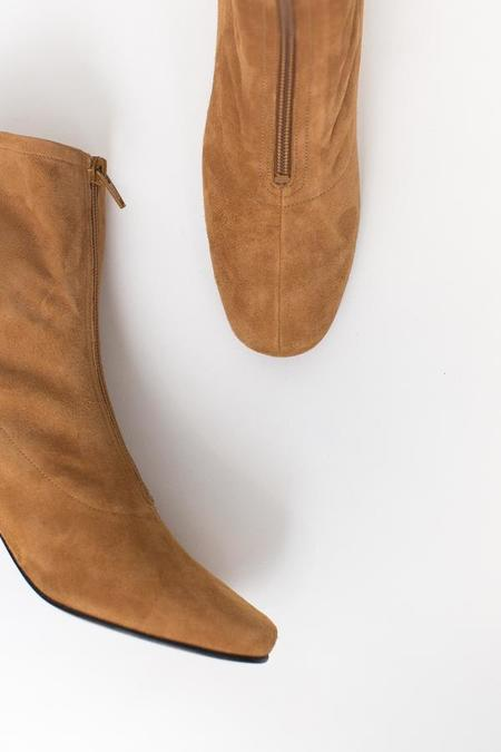 By Far Neva Boot - Nude Suede