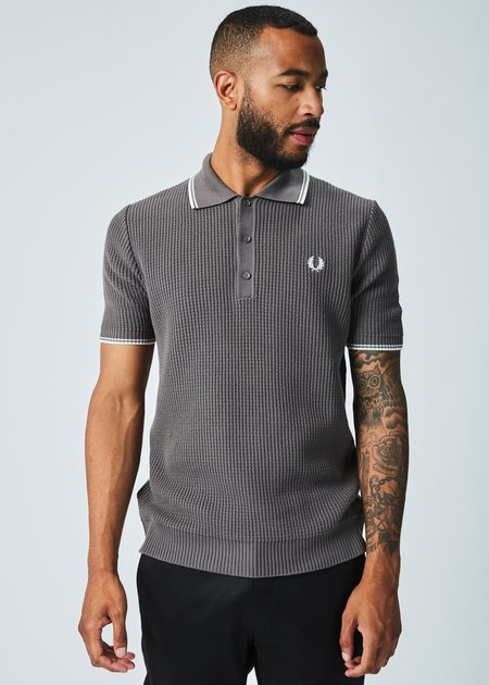 Fred Perry Reissue Textured Knit Polo