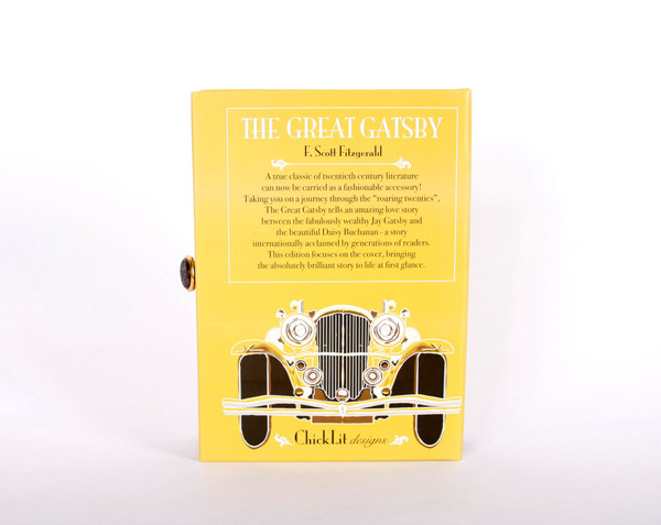 Chick Lit Designs Great Gatsby Book Clutch