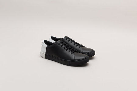 THEY New York Two-tone Low - Black/White