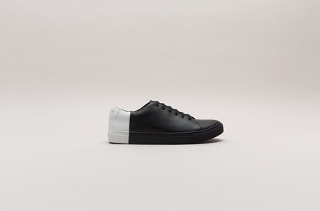 THEY New York Two-Tone Low in Black-White
