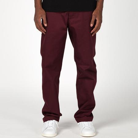 Deadstock.ca Welt Pocket Twill Chino - Burgundy