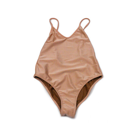 NU SWIM Arc One Piece in Blush