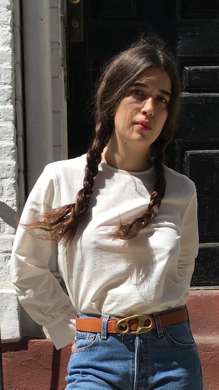 Nikki Chasin Sparta Ruffle Sleeve Top