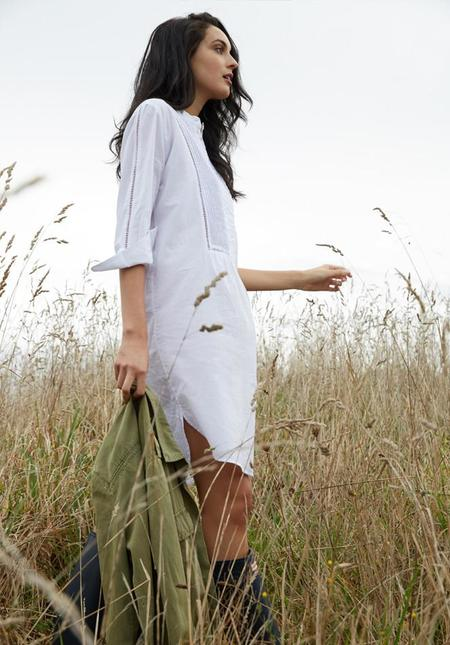 Laing Lillie Sleepshirt - White