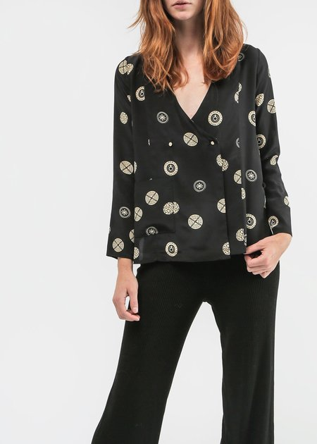 Suzanne Rae Button Up Blazer