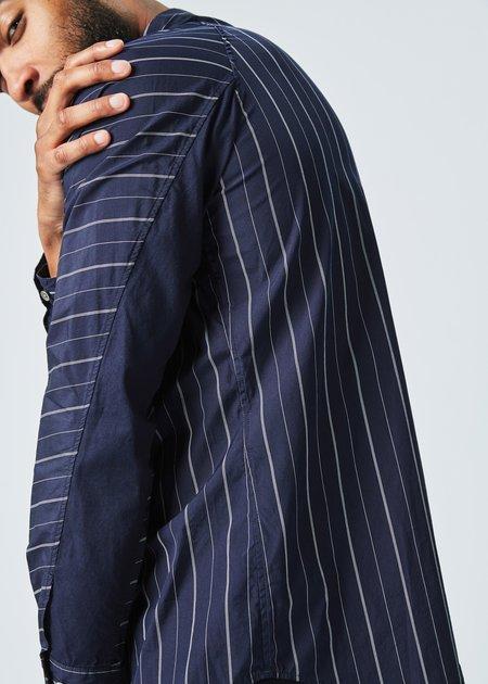 Sage de Cret Highway Stripe Button Up Shirt