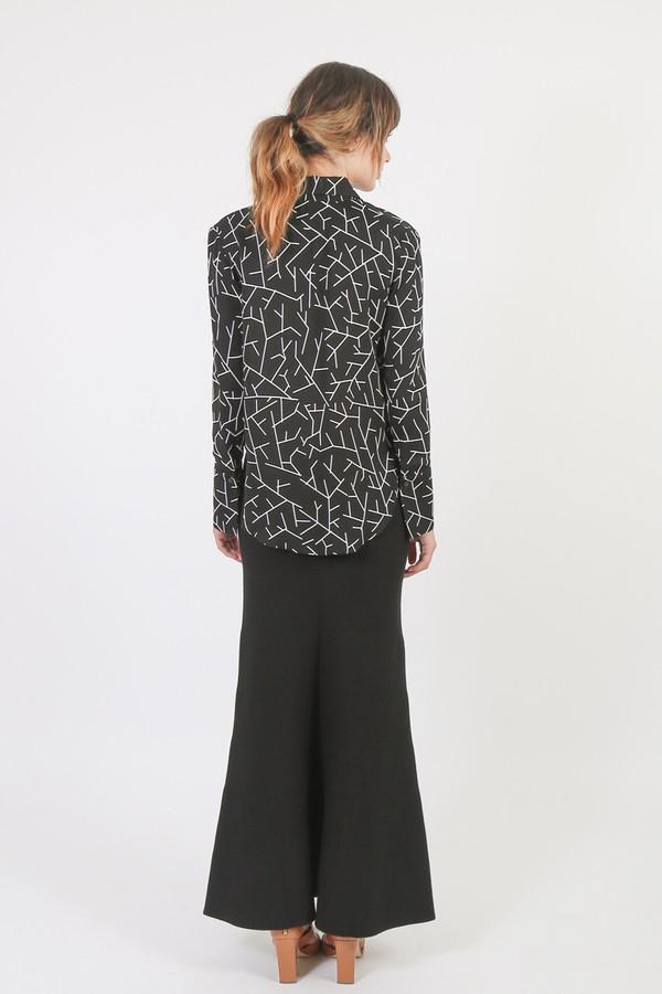 Nanushka Lana Knit A-Line Bandeau Skirt
