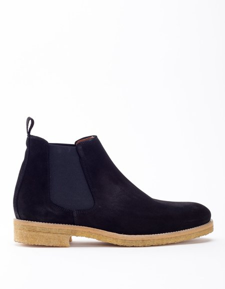 Garment Project Chelsea Boot- Black Suede