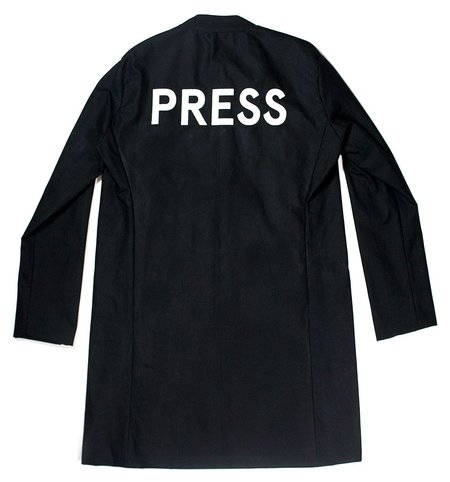 M Press Elongated Press Overcoat