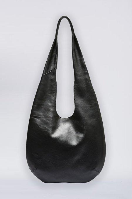 Flynn Leather Ebony Bag - Black