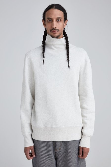 Our Legacy Turtleneck Sweat - Snow Melange