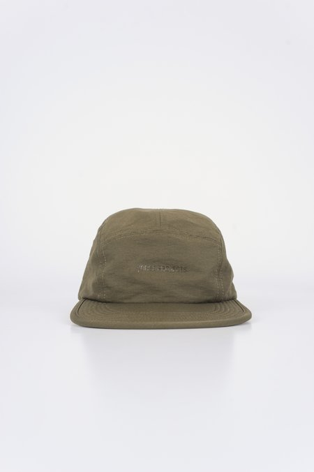 Norse Projects 5-Panel Gros Grain Cap Lichen