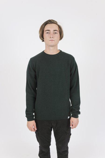 Norse Projects Sigfred Lambswool Moss