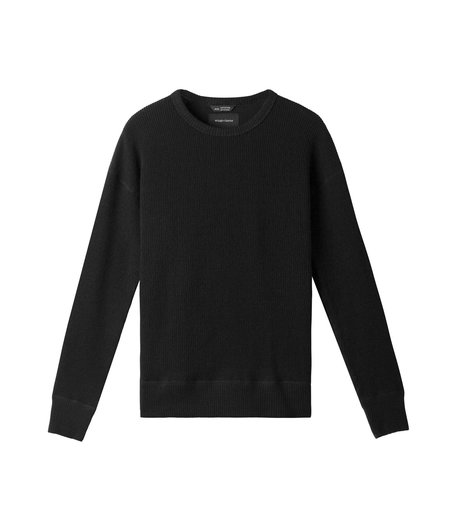 Wings + Horns Alpine Crewneck - Black