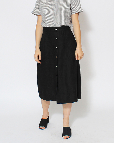 Sugar Candy Mountain Jasmine Skirt in Black