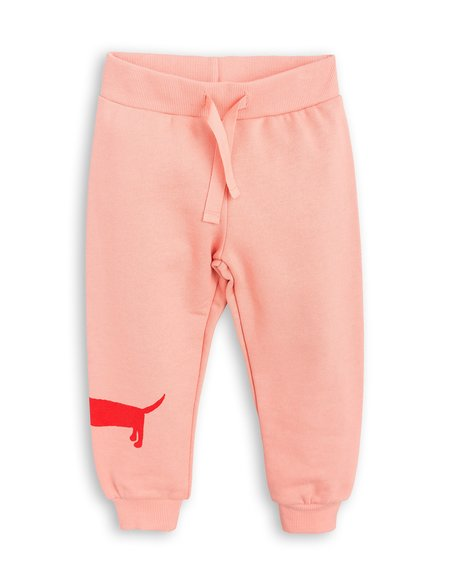 Mini Rodini Dog Sweatpants - Pink