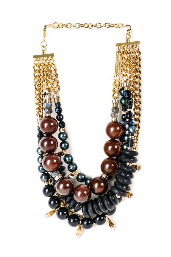 Lizzie Fortunato Of The Night Necklace