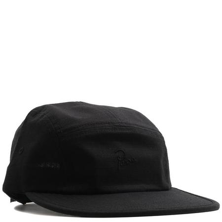 BY PARRA 5 PANEL VOLLEY HAT SIGNATURE - BLACK